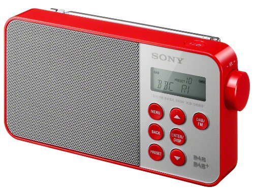 Sony XDR-S40DBPR Radio Portable Rouge