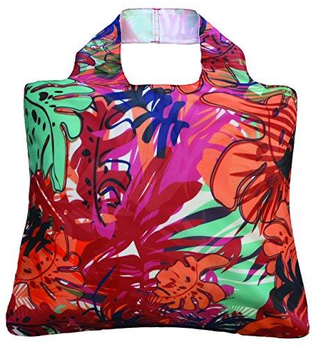 Envirosax Tropic 1bolsa plegable enrollable bolsa de la compra para la vida