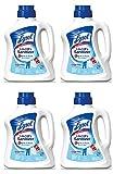 Lysol Laundry uqcCD Sanitizer Additive, Crisp Linen, 90 Ounce (4 Pack)