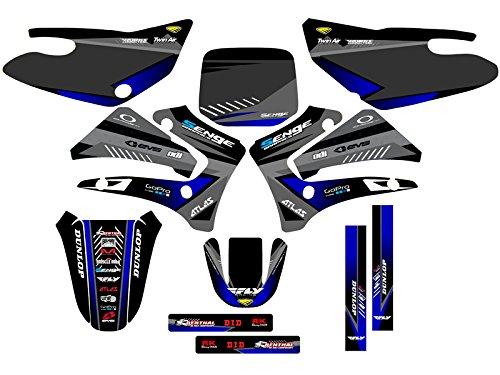2000-2007 TTR 125, Surge Black Complete kit, Senge Graphics, Compatible with Yamaha