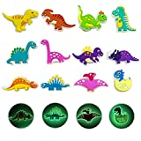 Kinear 12pcs Glow in Dark Different Shape Charms for Shoes Wristband Decoration Party Gifts