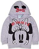 Disney Mickey ou Minnie Mouse Sweat à capuche en polaire chaud avec oreilles et...