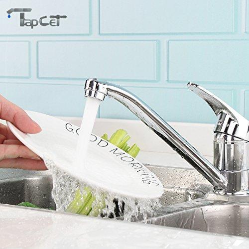 TAPCET rubinetto del lavandino Miscelatore cromato...