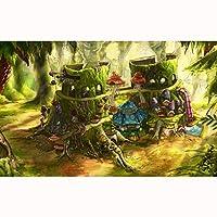 子供のための風景画ジグソーパズル300/500/1000/1500ピース知的開発おもちゃゲームギフト(Size:500PCS)