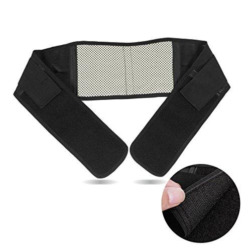 TININNA Atmungsaktiv Damen Elastisch Bauchweg Gürtel Bauchband Slimming Belt Taille Stützgurt Schlankgürtel Bauchweggürtel M EINWEG Verpackung