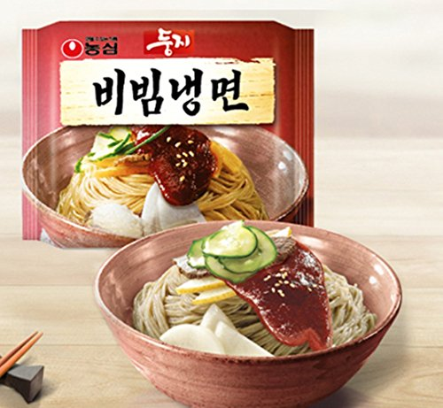 Nong Shim nongshim dungji bibim naengmyeon (koreanische kalte nudeln) 4ea, koreanische instant-nudeln, korea ramen ramyun nahrhafte snacks werbegeschenke partynahrung