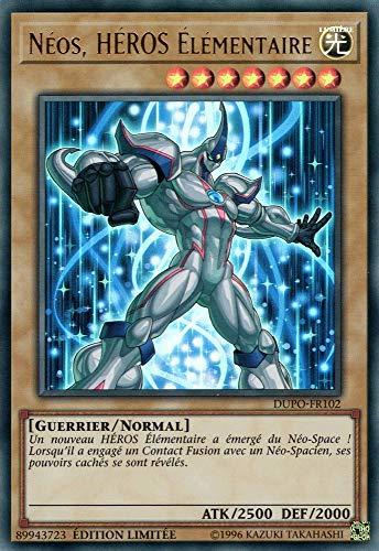 YU-Gi-Oh! Néos, Heros Élémentaire : DUPO-FR102 -VF/Ultra Rare-