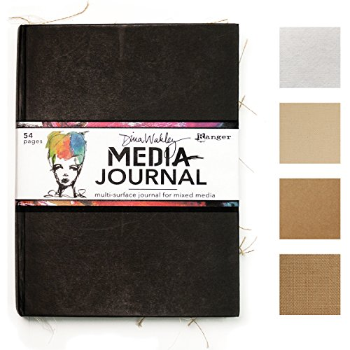 Ranger MDJ54726 Dina Wakley Media Journal 8'X10'