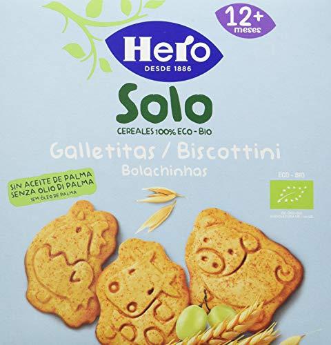 Hero - Galleta Animales Eco Hero Solo 100G 5U 500 g