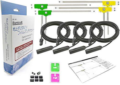 地デジフィルムアンテナ 補修用 HF201 カプラ (丸型黒色) コードセット L型フイルムアンテナ4枚 カロッツェリア AVIC-VH0099H AVIC-ZH0099H AVIC-ZH0099WH AVIC-VH0099 AVIC-ZH0099 AVIC-VH0099S AVIC-ZH0099S AVIC-ZH0099WS AVIC-ZH0099W AVIC-ZH0077 AVIC-ZH0077W AVIC-VH0009HUD AVIC-ZH0009HUD AVIC-VH0009CS AVIC-ZH0009CS AVIC-VH0009 AVIC-ZH0009 AVIC-ZH0007 AVIC-VH99HUD AVIC-ZH99HUD AVIC-VH99CS AVIC-ZH99CS AVIC-VH99 AVIC-ZH99 AVIC-ZH77 AVIC-VH09 AVIC-ZH07 AVIC-VH09CS AVIC-MRZ099 AVIC-MRZ099W AVIC-MRZ077 AVIC-MRZ066 AVIC-MRZ009 AVIC-MRZ007 AVIC-MRZ007-EV