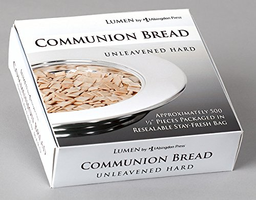 Unleavened Hard Communion Bread (Box of 500): Lumen by Abingdon Press