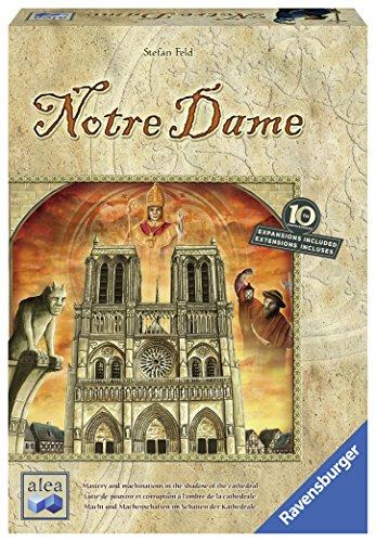 Ravensburger- Notre Dame: Juego Mesa Estrategia edición