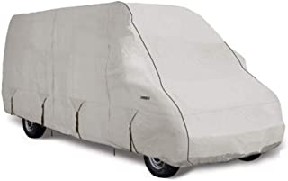 Goldline Class B RV Cover by Eevelle | Waterproof Fabric | Tan and Gray, 20-22 Feet