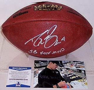 Signed Drew Brees Ball - Super Bowl 44 XLIV BAS - Beckett Authentication - Autographed Footballs