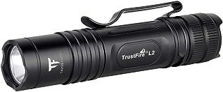 Trustfire L2 MaX 1000ルーメン 小型ミニ軽量 EDC懐中電灯CREE XP-L HD搭載 テールスイッチ懐中電灯 テールスイッチ フラッシュライト2モード切替 タクティカル LED懐中電灯 ハンディライト LED フラッシュライト