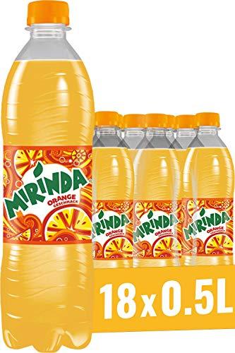 Mirinda, Das Original in Orange Classic, Limonade mit fruchtigem Orangengeschmack (18 x 0,5 l)