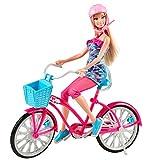 Mattel Barbie - Y7055 - Poupée - Barbie Fab Life  - Barbie et son vélo