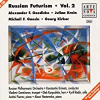 Russian Futurism Vol. 2 by Goedicke