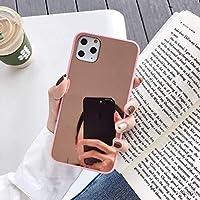 Cenzz スプライスミラー電話ケースiPhone11 Pro Max xr x xs 8 7 6PlusソフトTPUケースブラックピンクバンパーコックiPhone11ラブカバー-20-iPhone xr