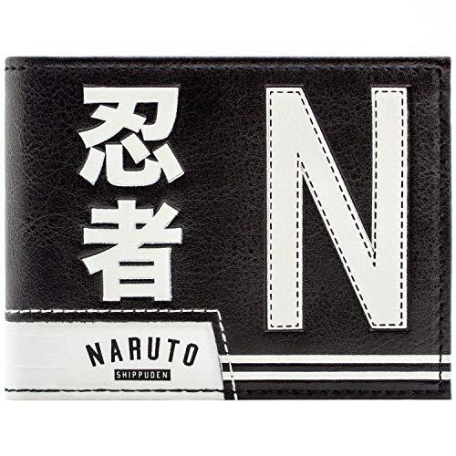 Naruto Shippuden Ultimate Ninja Academy Schwarz Portemonnaie Geldbörse