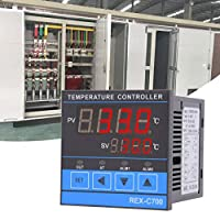 0-400 Celsius Digital Temperature Controller High Accuracy PID Control RELAY+SSR Output