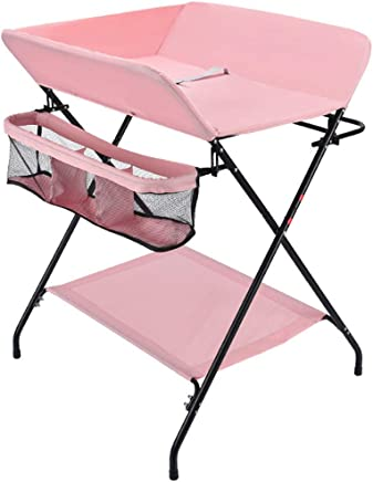 JINYANG Diaper Table Baby Care Table Newborn Baby Dressing Massage Table Bath Portable Multifunctional Folding Bed