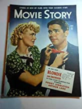 Movie Story Magazine, June 1943, Penny Singleton, Arthur Lake, BLONDIE & DAGWOOD Articles: CHINA Loretta Young, Alan Ladd, SWING SHIFT MAISIE, Ann Sothern