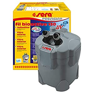 sera fil bioactive UV External Filter and Algae Killer, physically reduces germs, parasites and algae with i...