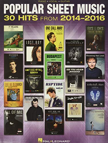 Popular Sheet Music: 30 Hits fro...