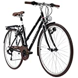 KS Cycling Trekkingrad Damen Venice 28'' Tourenlenker schwarz RH 53 cm