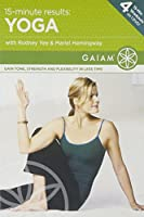 15-Minute Results Yoga [DVD] [Import]