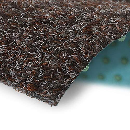 Rasenteppich Farbwunder | Balkonteppich | Robust & witterungsbeständig | Erhältlich in 5 Farben | Kunstrasenteppich für Terrasse, Balkon und Freizeit | Outdoor-Teppich (Braun, 200 x 300 cm)