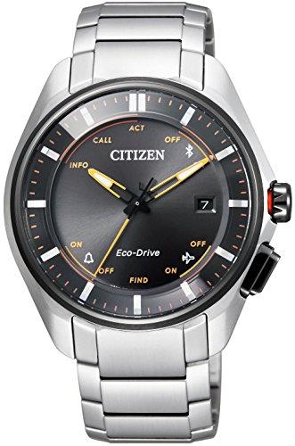 シチズン腕時計 エコ・ドライブ Bluetooth スーパーチタニウムモデル BZ4004-57E シルバー