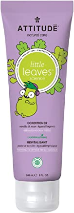 Attitude Little Leaves Natural Conditioner For Kids - Vanilla And Pear - 240 ml