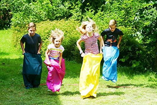 Best Sporting Kids Party Set 22 teilig, Sackhüpfen Eierlauf Sprint