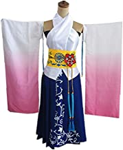 Final Fantasy X 10 Yuna Cosplay Costume Custom Made