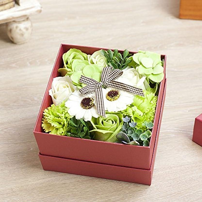 時々まばたき許容できる花のカタチの入浴料!フラワーフレグランスボックス ピンクボックス