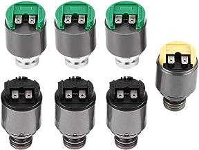 Cuque 7 Pcs 5HP19 Pressure Regulator Transmission Solenoids Set Kit for A6 1997-2005 A8 1997-2003 S4 2000-2002 S6/RS6 2003-2006