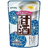 カンピー 甘酒(砂糖不使用) 150gパウチ×12袋入×(2ケース)