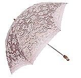Best Uv Parasols - LCY Ladies Vintage Lace 2 Folding Anti-UV Parasol Review