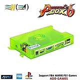 TAPDRA 3A Original Pandora's Box 6 Arcade Board DIY Kit, 1300 Retro Games Console Machine, Support Add FBA MAME PS1 Games, HDMI VGA Output