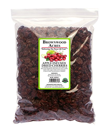 Dried Tart Cherries Sweetened with Apple Juice Concentrate - 5 Pound Bag