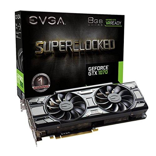 EVGA GeForce GTX 1070 08G-P4-5173-KR Grafikkarte schwarz