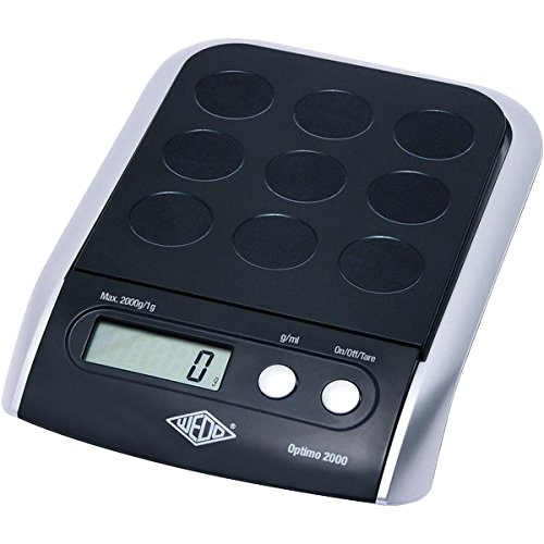 Lowest Prices! Wedo Optimo 2000G Electronic Scale - Black