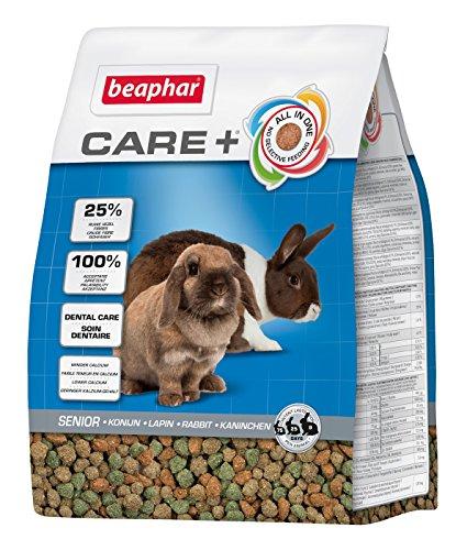 Beaphar – Pienso de cuidado dental de la gama Care Plus para conejos adultos mayores