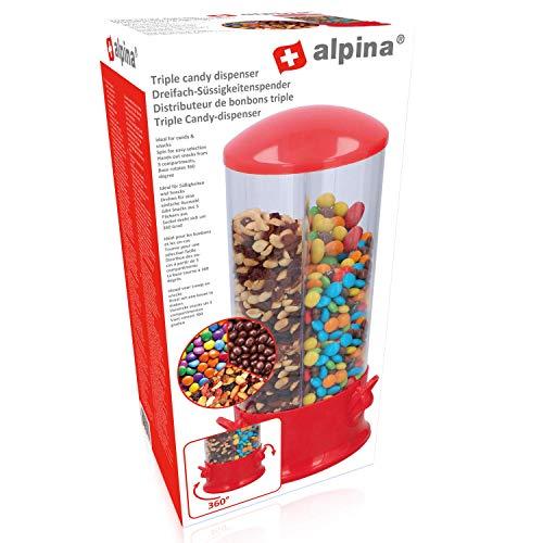 Warenhandel Koning Candydispenser Bonbons Kauwgom pinda's Cerial dispenser zoete muesli noten