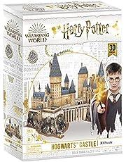 CubicFun 3D Puzzle Harry Potter Hogwarts Schloss Schule, Magic Model Making Kit, DIY BAU Spielzeug Geschenk für Erwachsene und Kinder, 197 Stück