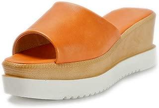 BalaMasa Womens AFL00500 Pu Slippers