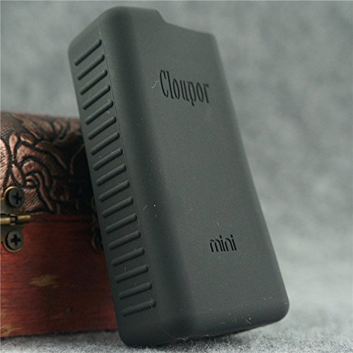 Silicone Case for Cloupor Mini 30w with Logo Skin Cover Sleeve (Black)