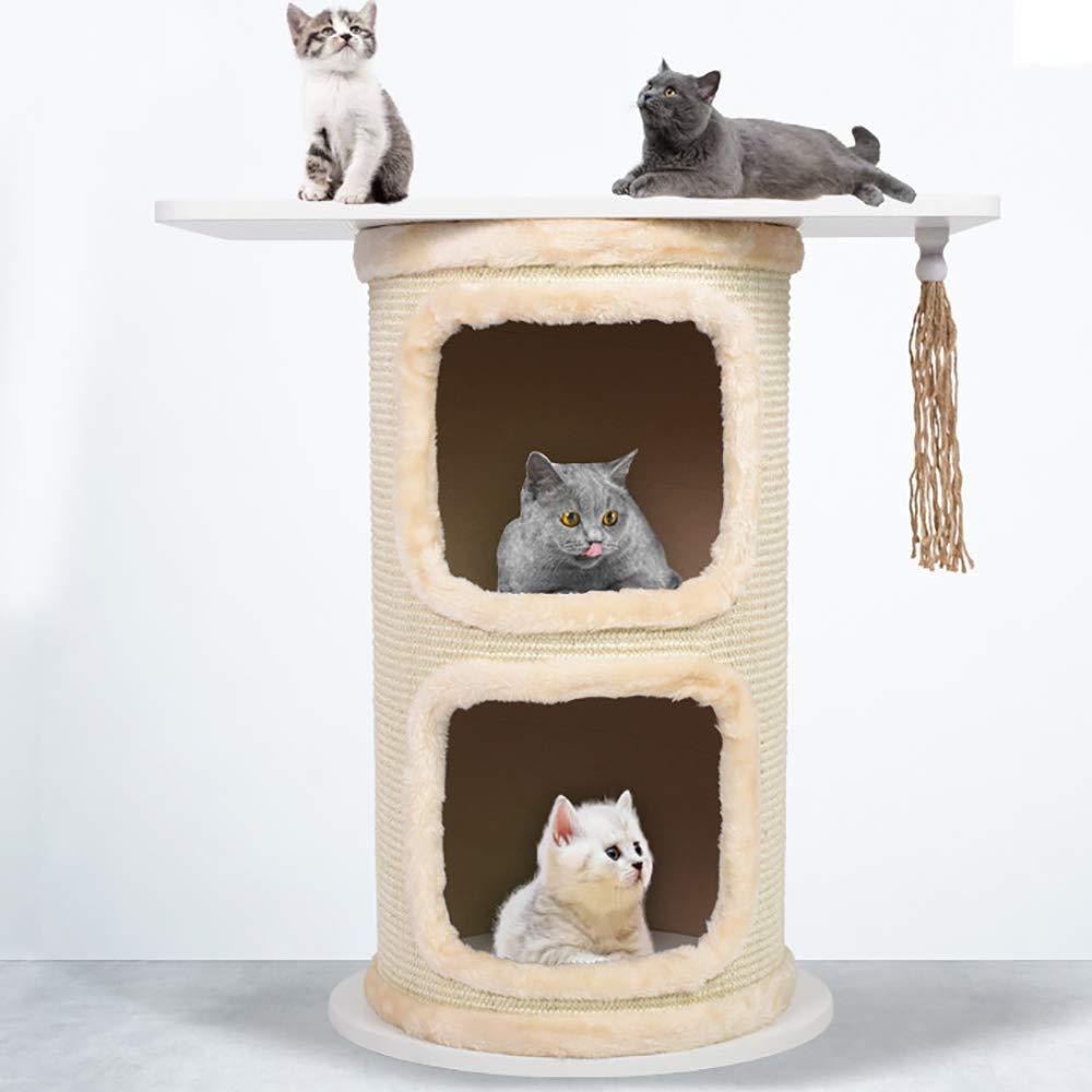 Ccgdgft Gato de la Manera Muebles del Gato Condo Gatito árbol ...